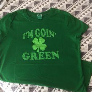 Tops - Green top